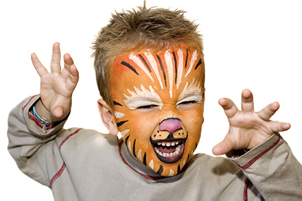 maquillage tigre