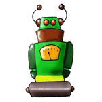 Invitations anniversaire robots