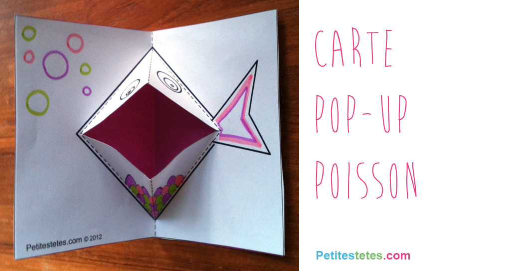 Carte pop up - Carte pop up facile ...