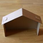 Fabriquer une cr che de no l - Fabriquer une cheminee en carton pour noel ...