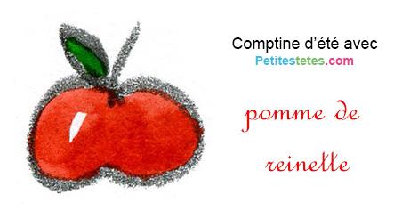 Paroles pomme de reinette - Pomme de reinette et pomme d api tapis tapis rouge ...